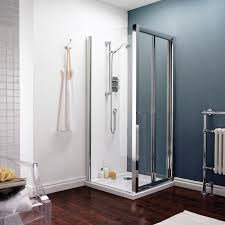 bi fold shower door 760mm es400 bifold shower enclosure door