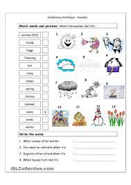 free preschool match the seasons worksheet kindergarten prin koogra