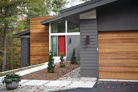 mid century modern midcentury exterior sherwin williams urbane