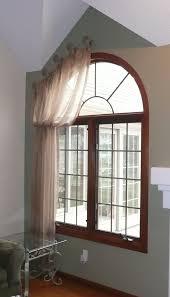 interior amazing design of curtains for arched windows atlanta