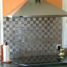 mosaique credence cuisine charming une credence de cuisine 2 plaque mosaique inox