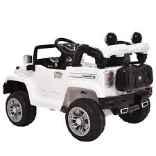 Mp3 Rc Battery Power Wheels Jeep Car Truck Kids Ride On W Led
