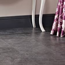 tila black slate tile effect laminate flooring 1 m pack