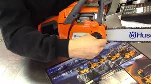 husqvarna chainsaw 240 e series toronto ontario youtube