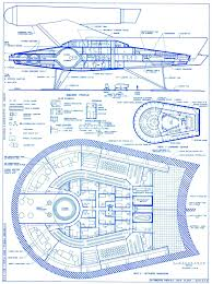 star trek blueprints romulan