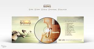 cd psd template instrumental song by affant on deviantart