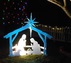 Outdoor Nativity Lighted - outdoor nativity scenes design 17 wonderful lighted outdoor