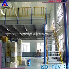 industrial mezzanine steel structure platform of workshop buy