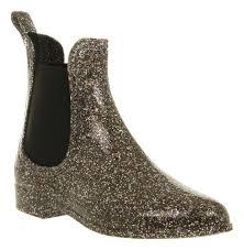 s boots style juju s chelsea welly boot glitter rubber plastique fantastique