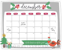 christmas countdown calendar free printable christmas countdown calendar for december 2 versions