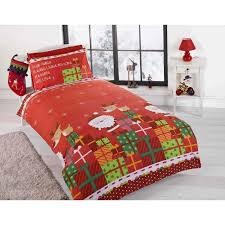 christmas sets give your bed a makeover with christmas duvet sets home and textiles