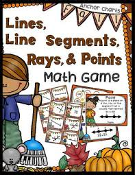 21 best teach math lines rays points segments images on