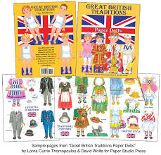 great traditions paper dolls charming costumes