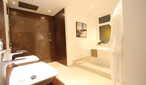 Modern Bathroom Tiles Uk Modern Bathroom With Large Freestanding Bath And Wetroom Using
