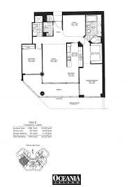 1 Bedroom Condo Floor Plans by Sunny Isles Beach Condos Floor Plans