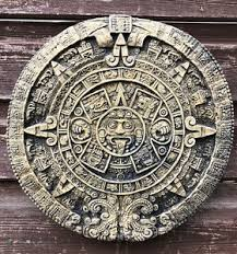 aztec mayan calendar wall plaque sun home or