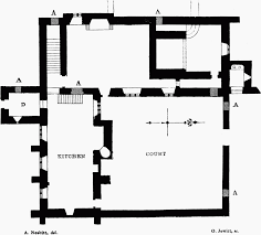 Medieval Manor House Floor Plan by Parishes Meare British History Online