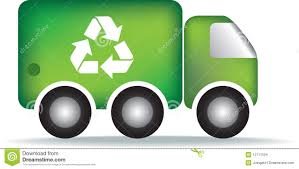 recycle garbage truck stock images image 12717524