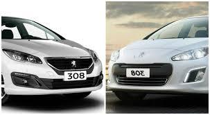 peugeot 2014 models older peugeot 308 and 408 models get a 2016 facelift in argentina