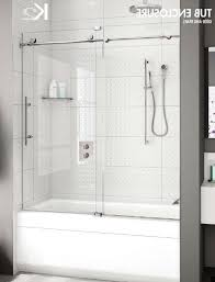 glass tub doors frameless page