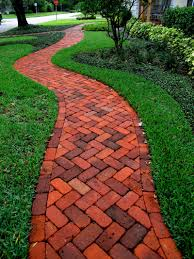 Red Brick Patio Pavers by Brick Driveway Cost Vs Concrete Pavers Paver Pool And Patio Design