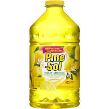 can i use pine sol to clean wood cabinets pine sol multi surface cleaner lemon fresh 100 ounce bottle