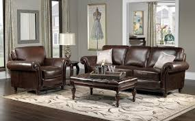 grey walls brown sofa dark brown furniture color scheme grey walls couch red leather
