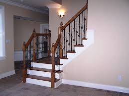 basement stair railing code how to put a basement stairs railing