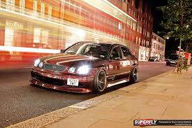 slammed jdm cars vip style london toyota aristo vip superfly autos