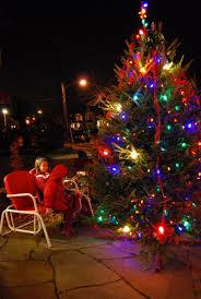 del ray business association holiday tree lighting