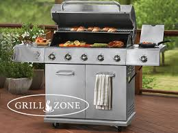 Backyard Grill 5 Burner Gas Grill Reviews Gas Or Charcoal Grills Deckcenter
