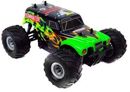 1 24 electric rc monster truck 2 4ghz rtr dominator