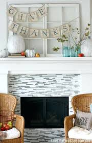 fall fireplace mantel displays brilliant mantel decoration ideas for