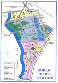 Mumbai Map Mumbai Police