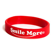 red silicone bracelet images Smile more silicone bracelets the smile more store jpg