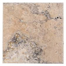 lava onyx brushed travertine tile 16in x 16in 100230606