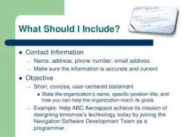 What To Include On Your Resume Innovation What Does A Resume Include 3 What To Include On Your