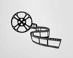 home theater decor movie reel and film metal wall art wall