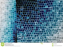 blue mosaic tile wall stock photo image 53389868