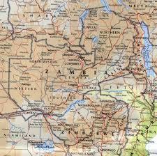 Zambia Africa Map by Zambia Maps