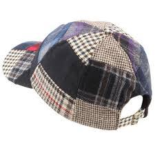 Patchwork Cap - baseball cap hat hawkins tweed patchwork wool one size ebay