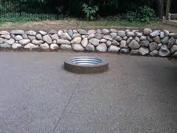 sturdy outdoor landscaping and flooring with modern concrete