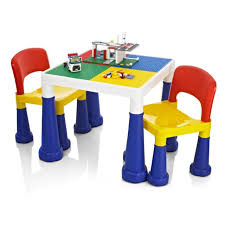 2 In 1 Activity Table Kiddyplay 2 In 1 Activity Table U0026 Chairs Ebay