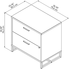 Lateral File Cabinet 2 Drawer by Kathy Ireland Office By Bush Method 2 Drawer Lateral Filing