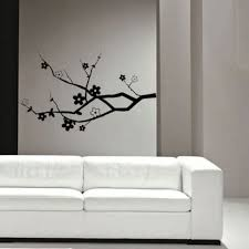 White Decorative Branches Wall Art Ideas Design Startling Bedroom Black And White Wall Art