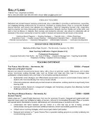 Reading Teacher Resume Best 25 Good Resume Objectives Ideas On Pinterest Career