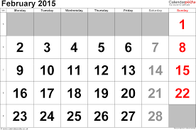 calendar february 2015 uk bank holidays excel pdf word templates