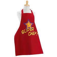tablier de cuisine pour enfants tablier de cuisine enfant chef 7 12 achat vente