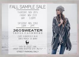360 sweater fall sle sale ca november 2014 whsale