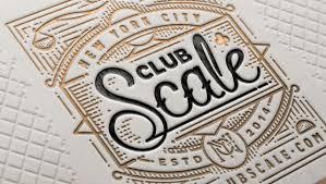 letter press show your depth 50 letterpress business cards design